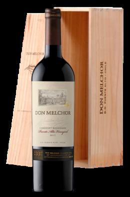 Don Melchor Cabernet Sauvignon estuche de madera