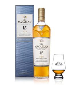 The Macallan 15 + Copa Glencairn