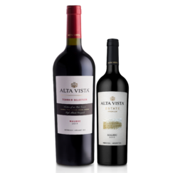 ack Alta Vista Terroir Selection 750ml + Estate Premium Malbec 375ml